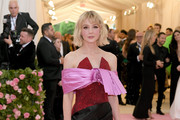 Carey Mulligan Off-the-Shoulder Dress