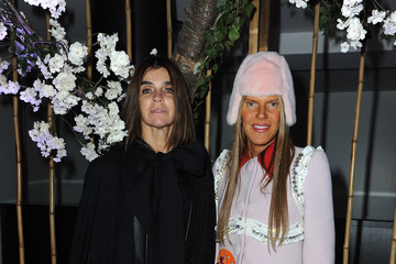 Carine Roitfeld Anna dello Russo Front Row at the Schiaparelli Show