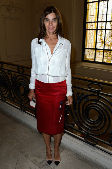 Carine Roitfeld Pencil Skirt