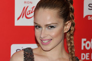 Carla Nieto Long Braided Hairstyle