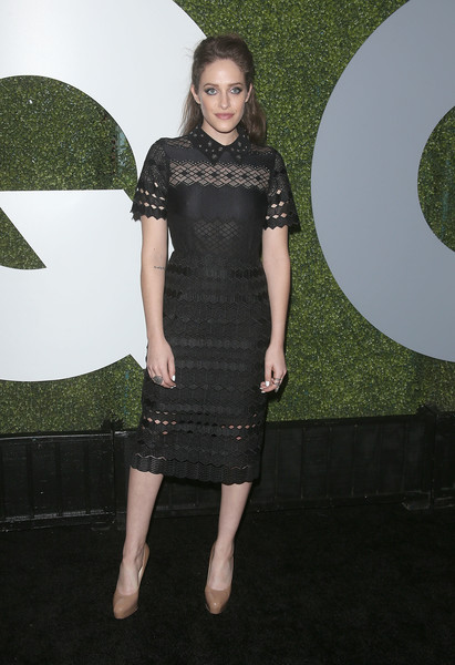 Carly Chaikin Lace Dress
