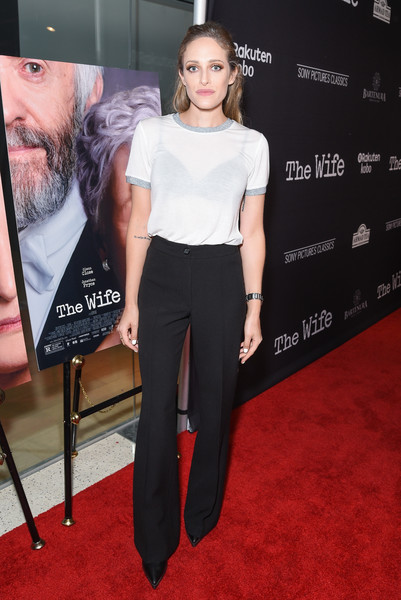 Carly Chaikin Wide Leg Pants
