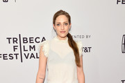 Carly Chaikin Ruffle Blouse