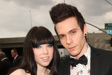 Carly Rae Jepsen Matthew Koma The 55th Annual GRAMMY Awards - Red Carpet