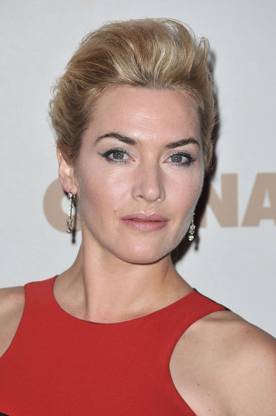 More Pics of Kate Winslet French Twist (5 of 34) - French Twist Lookbook - StyleBistro
