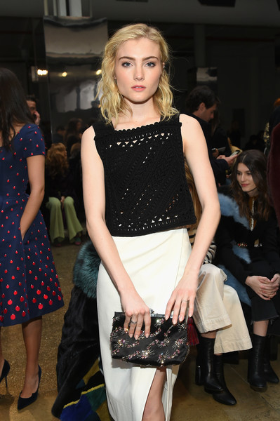 More Pics of Skyler Samuels Pumps (1 of 3) - Skyler Samuels Lookbook - StyleBistro