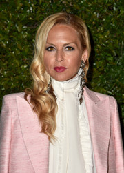 Rachel Zoe sported glamorous side-swept waves at the celebration of Chanel's Gabrielle bag.