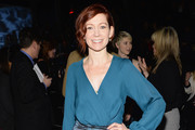 Carrie Preston Wrap Top