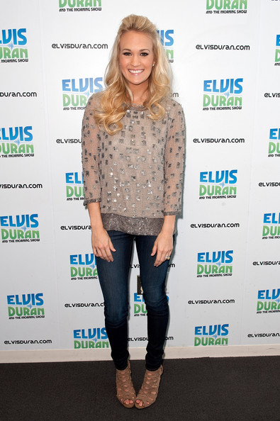 Carrie Underwood Cutout Boots