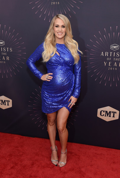 Carrie Underwood Maternity Dress