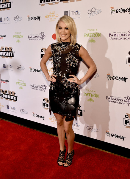 Carrie Underwood Strappy Sandals