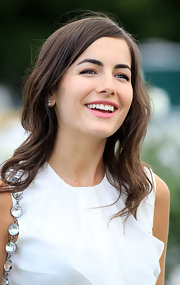 Camilla Belle looked radiant at the International Polo Day.