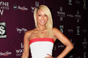 Recording artist Keri Hilson attends Cash Money Records' Lil Wayne album release party for