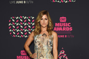 Cassadee Pope Embroidered Dress
