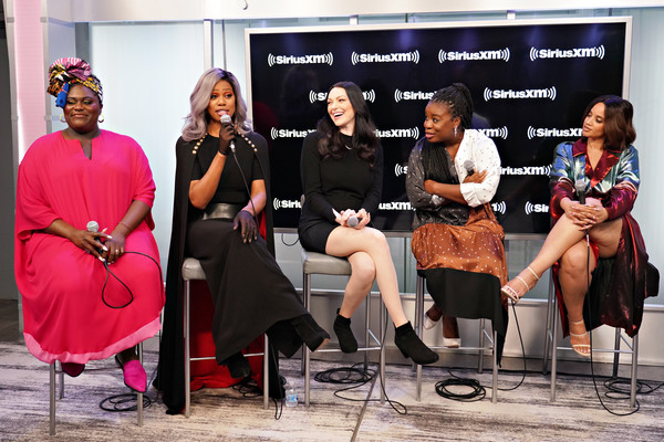 More Pics of Laura Prepon Ankle Boots (5 of 25) - Laura Prepon Lookbook - StyleBistro [orange is the new black,event,fashion,performance,adaptation,talent show,media,tourism,conversation,cast,actresses,danielle brooks,uzo aduba,laura prepon,laverne cox,new york city,siriusxm studios,visit]