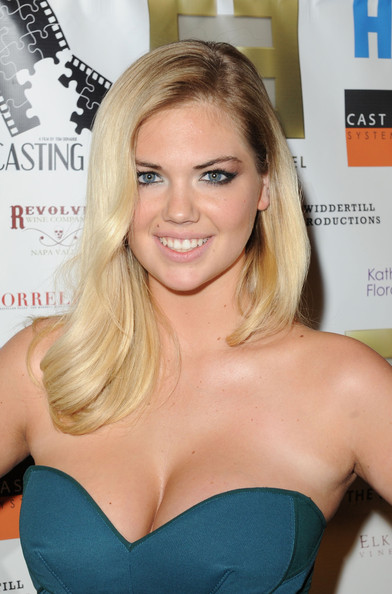 More Pics of Kate Upton Strapless Dress (5 of 8) - Kate Upton Lookbook - StyleBistro