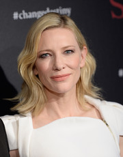 Cate Blanchett graced the SK-II Change Destiny Forum wearing this '20s-chic wavy 'do.