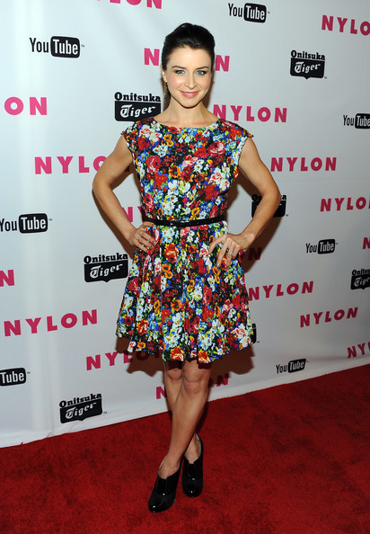 Caterina Scorsone Print Dress