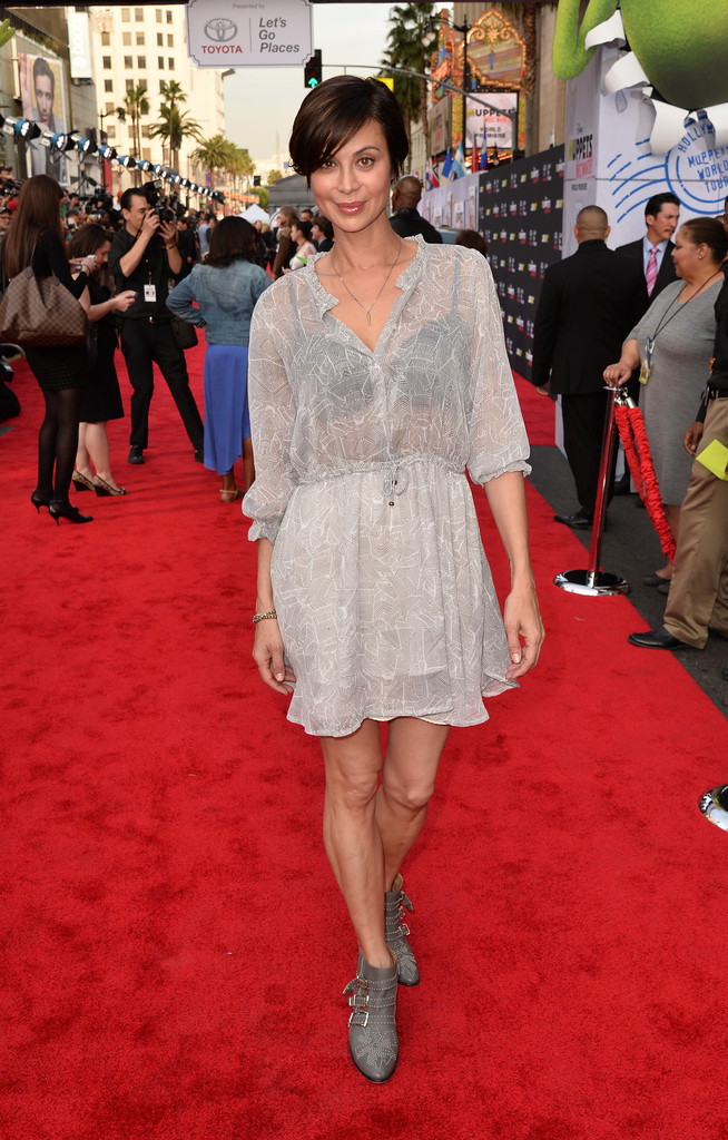 Catherine bell see through dress opinion