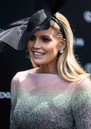 Lady Kitty Spencer gave us bling envy with her huge diamond studs at the 2019 Melbourne Cup Day.