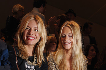 Sienna Miller Savannah Miller Celebrities On The Front Row: Day Three - LFW Spring/Summer 2011
