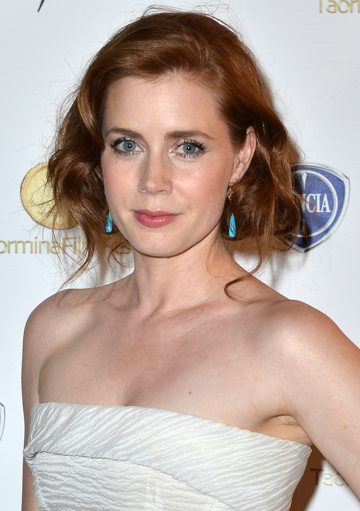 Amy Adams attends the Lancia Cafe during the Taormina Filmfest 2013 on June 15, 2013 in Taormina, Italy.
