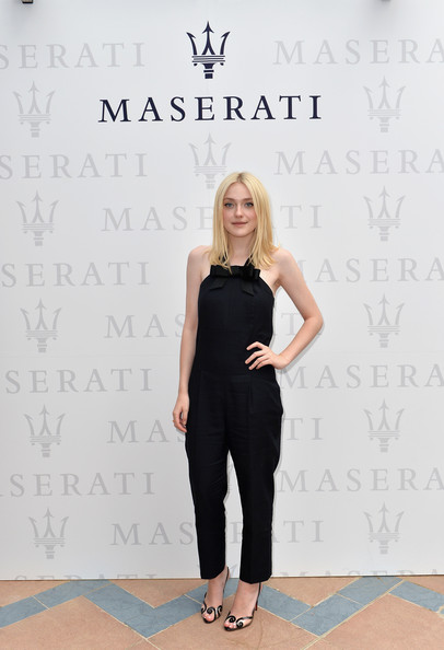 More Pics of Dakota Fanning Jumpsuit (1 of 2) - Jumpsuit Lookbook - StyleBistro