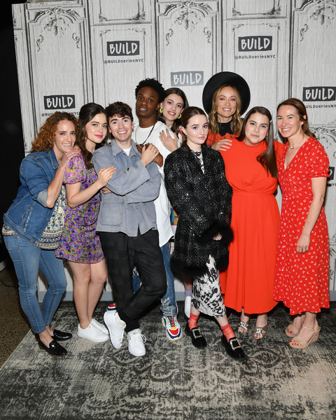 More Pics of Kaitlyn Dever Ponytail (1 of 5) - Kaitlyn Dever Lookbook - StyleBistro [celebrities,jessica elbaum,austin crute,noah galvin,diana silvers,molly gordon,olivia wilde,kaitlyn dever,build studios,people,social group,youth,event,fashion,fun,fashion design,photography,leisure,style,new york city]