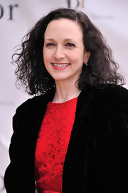 Bebe Neuwirth stuck to her signature raven curls at the American Ballet Spring Gala.