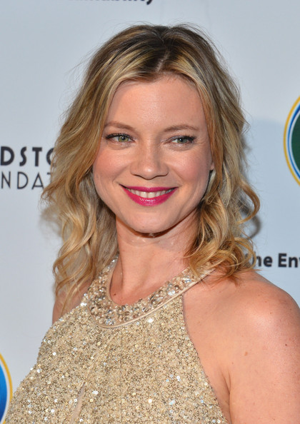 More Pics of Amy Smart Beaded Dress (1 of 17) - Amy Smart Lookbook - StyleBistro