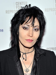 Joan Jett looked edgy, as always, wearing this layered razor cut at the Center for Reproductive Rights Gala.