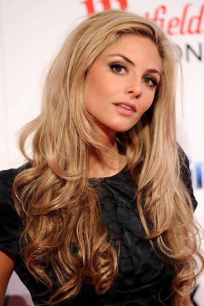 More Pics Of Tamsin Egerton Long Curls 3 Of 15 Tamsin