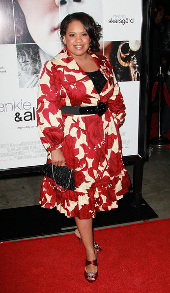 Chandra Wilson Beaded Clutch [frankie and alice,arrivals,chandra wilson,california,hollywood,egyptian theatre,premiere,premiere]
