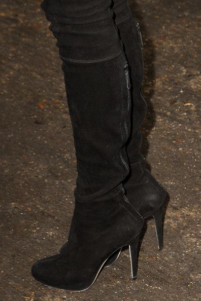 More Pics of Diane Kruger Over the Knee Boots (1 of 8) - Over the Knee Boots Lookbook - StyleBistro