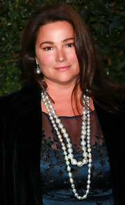 Double-strand pearls like Keely Shaye Smith's are a surefire way to add instant class to any outfit.