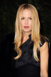 Rachel Zoe attended the Chanel and Charles Finch pre-Oscar Dinner wearing her hair in her signature sleek and straight style.