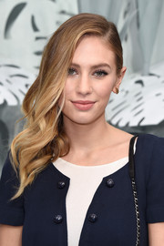 Dylan Penn attended the Chanel Couture show wearing her hair in a red carpet-worthy side sweep.
