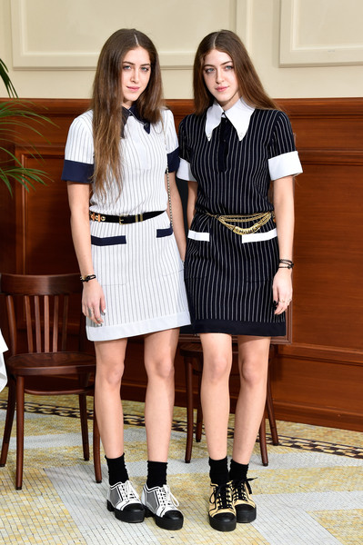 Haya Abu Khadra and Sama Abu Khadra at Chanel