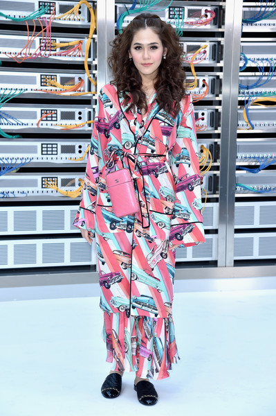 Araya A. Hargate at Chanel