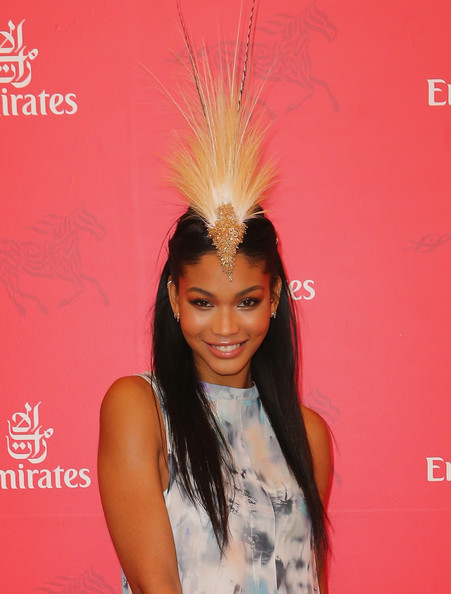 Chanel Iman Headdress
