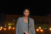 Chanel Iman Over the Knee Boots