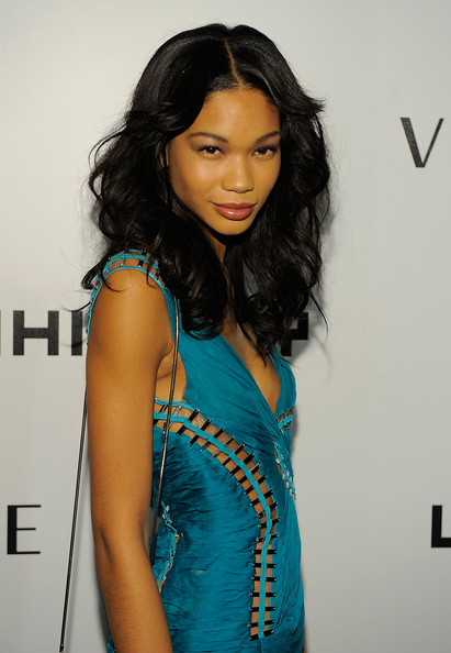 Chanel Iman Medium Wavy Cut