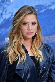 Ashley Benson looked gorgeous with her ombre waves at the Chanel Fall 2019 show.