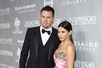 Channing Tatum Jenna Dewan-Tatum Fifth Annual Baby2Baby Gala, Presented by John Paul Mitchell Systems - Red Carpet