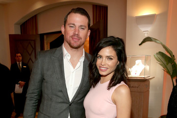 Channing Tatum Jenna Dewan-Tatum DeLeon Tequila At The Weinstein Company's Academy Awards Nominees Dinner In Partnership With Chopard, DeLeon Tequila, FIJI Water And MAC Cosmetics