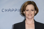 Sigourney Weaver went for a classic bob at the 'Chappie' fan event in Berlin.