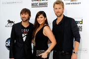 Charles Kelley Leather Band Chronograph Watch