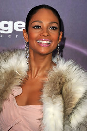 Alesha Dixon sported a sleek Croydon facelift 'do at the Charles Vogele Fashion Days.