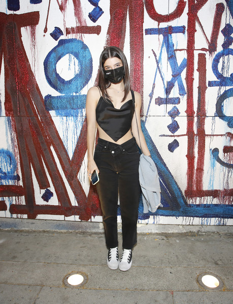 Charli D'Amelio Canvas Sneakers [americas sweetheart,single,vision care,eyewear,azure,street fashion,art,style,cool,sunglasses,graffiti,fashion design,charli damelio,friends,lilhuddy,vision care,eyewear,azure,lilhuddy celebrates new single,getty images,getty images,stock photography,image,istock,photograph,royalty-free,portrait,stock.xchng,los angeles]
