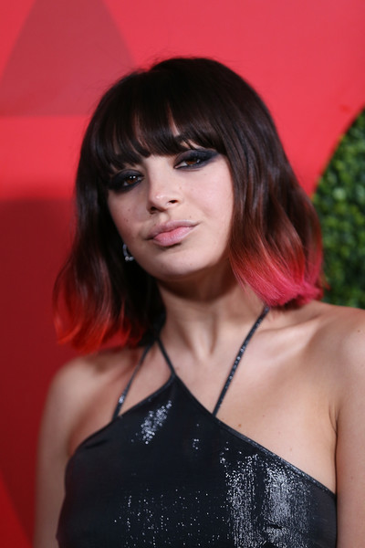 Charli XCX Mid-Length Bob [stock photography,hair,hairstyle,face,beauty,lady,bangs,black hair,shoulder,bob cut,chin,arrivals,charli xcx,lady,hair,hairstyle,face,beauty,beverly hills,gq men of the year party,charli xcx,stock photography,photography,getty images,celebrity,image,portrait,model,royalty-free]